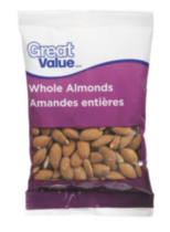 Great Value Whole Almonds
