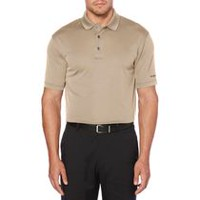 Ben Hogan Men's Golf Performance Mini Block Jacquard Short Sleeve Polo Shirt Black M