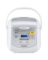 Panasonic SRZC075W Multi-Function Rice Cooker with 8 Auto Cook Programs and Keep Warm Function, White
