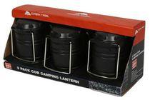 Ensemble de trois lanternes pour le camping