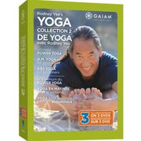 Rodney Yee's Yoga Collection 2: Ultimate Power Yoga / A.M. Yoga For Your Week / Abs Yoga For Beginners (Bilingual)