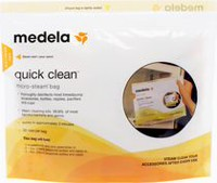Quick Clean Micro-Steam Bags - 5 bags