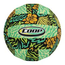 COOP Hydro Waterproof Volleyball - Outdoor Pool Toy for Kids and Adults, Green