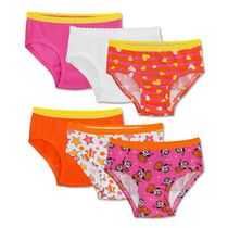 Fruit of the Loom Toddler Girls 6pk Assorted Hipster