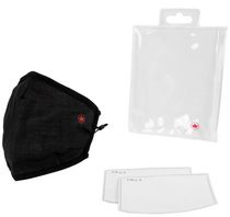 Air Canada Pleated Adult Face Mask With 2 Disposable Filters