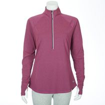 Athletic Works Women's ¼ Zip Top Purple XL/TG