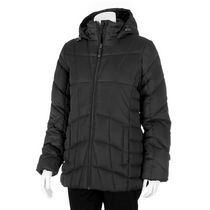 George Women's Fleece-lined Puffer Parka Black L/G