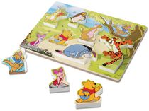 Melissa & Doug Winnie The Pooh Wooden Chunky Puzzle