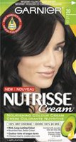Garnier Nutrisse Cream Permanent Haircolour Cream Soft Black