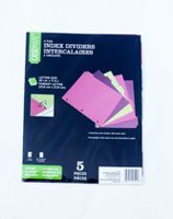 Casemate 5 Tab Index Dividers