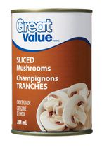 Great Value Champignons Tranchés