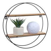 Truu Design Decorative Round Floating Wall Shelf
