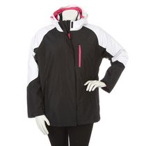 Athletic Works Women's Plus Size 3-in-1 Jacket Black 1x