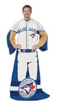 "Blue Jays ""Uniform"" Adult Comfy Throw"