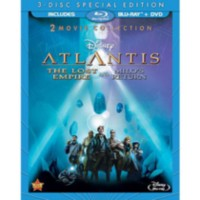 Atlantis: The Lost Empire / Atlantis 2: Milo's Return (3-Disc) (Blu-ray + 2 DVDs)