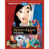 Mulan / Mulan II (Blu-ray + 2 DVDs) (15th Anniversary Edition) (Bilingual)