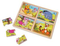 Melissa & Doug Winnie the Pooh 16-piece My First Wooden Peg Puzzle