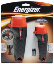 Energizer Rubber LED Flashlight Combo