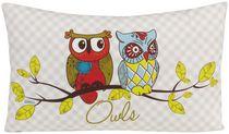 Gouchee Home OWLS Green Cushion