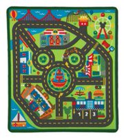 Melissa & Doug Disney Mickey Mouse Clubhouse City Activity Rug Set