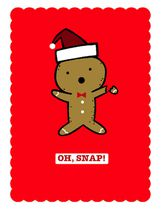 Christmas Boxed Cards-Gingerbread Character