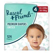 Les couches premium jetable de Rascal + Friends