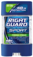 Gel clair Right Guard de Sport Fresh antisudorfique et désodorisant