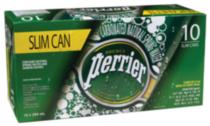 Perrier Slim Cans