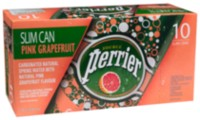 Perrier Slim Cans Pink Grapefruit