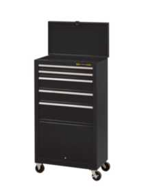 5-Drawer Tool Tower with Bulk Storage
