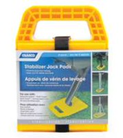 Camco 44590 Stabilizer Jack Pads - 4 Pack