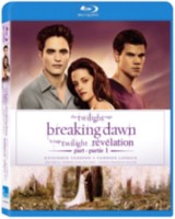 Film Twilight Saga: Breaking Dawn Part 1 - Extended Edition (Blu-ray) (Anglais)