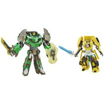 Transformers Generations Platinum Edition Bumblebee and Grimlock Figures