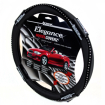 Black Bling Steering Wheel Cover