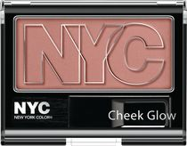 NYC New York Color Cheek Glow Blush Powder Riverside Rose