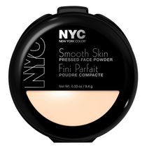 NYC New York Color Smooth Skin Pressed Face Powder, 9.4 g Translucent