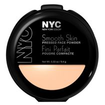 NYC New York Color Smooth Skin Pressed Face Powder, 9.4 g Warm Beige