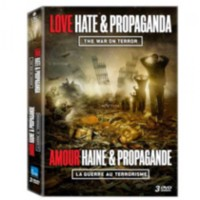 Film Love, Hate & Propaganda - War On Terror (DVD) (Bilingue)