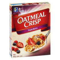 Oatmeal Crisp™ Triple Berry Cereal