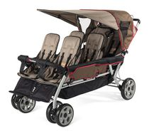 Foundations 6 Passenger Stroller Tan/Beige