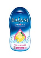 Exhausteur de saveur Dasani drops limonade rose de 56 ml