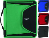 Five Star Slim Zipper Binder 1.5 in