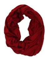 George Women's Jersey Knit Infinity Loop Scarf Chilli