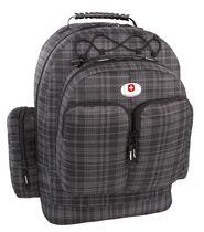 Swiss Alps Backpack - Grey Plaid