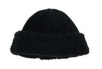 George Women's Fleece Cuffed Hat Black