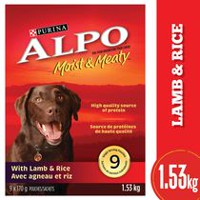 Purina® Alpo® Moist & Meaty™ with Lamb & Rice Dog Food