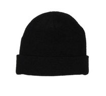 George Women's Chenille Cuffed Hat Black