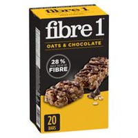 Fibre 1 Chewy Oats & Chocolate Bars