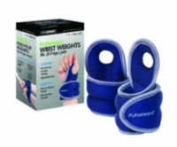 PurAthletics 2lb Wrist Weights with Thumb Loop - WTE100852