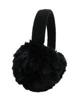 George Women's Faux Fur Earmuff Black